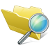 Folder-search icon