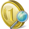 Coin-search icon