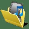 Folder-my-video icon