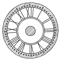 Clock Icon Sketchy Iconset Azuresol