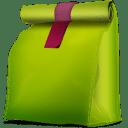 Corbeille-propre-vide-box icon