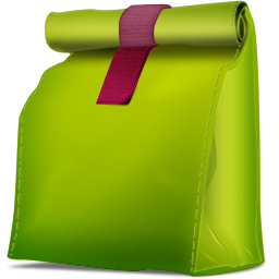 Corbeille propre vide box icon