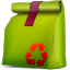 Corbeille-propre-pleine-box icon