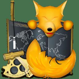 Firefox old school final icon