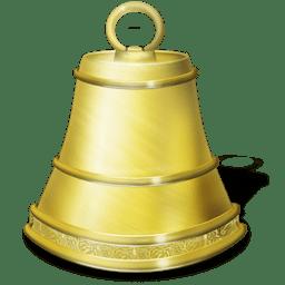 Alarme old school icon