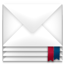 Mail envelope package icon