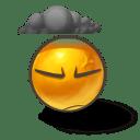Dark mood icon