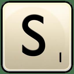 S icon