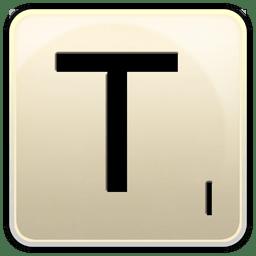 T icon