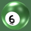 Ball 6 icon