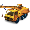 Dodge Crane Truck with movement icon