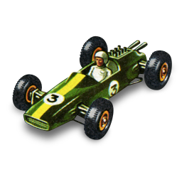 Lotus Racing Car icon