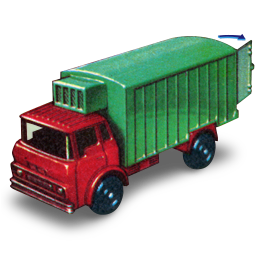 Refrigeration Truck with Open Door icon