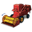 Combine Harvester with Movement icon