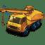 Dodge Crane Truck with movement icon
