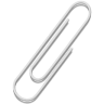 Paperclip icon