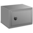 Strong box closed icon