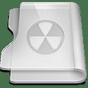 Aluminium burn icon