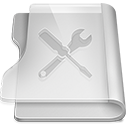 Aluminium utilities icon