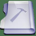 Purple developer icon