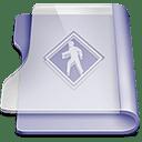 Purple public icon