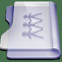 Purple sharepoint icon