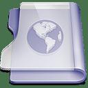 Purple site icon