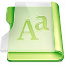 Summer font icon