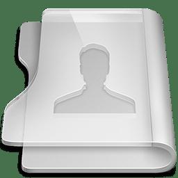 Aluminium user icon