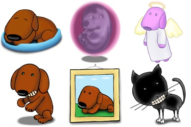 A Dogs Life Icons