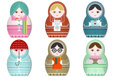 Matryoshka Icons
