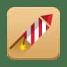 Rocket-Fireworks icon