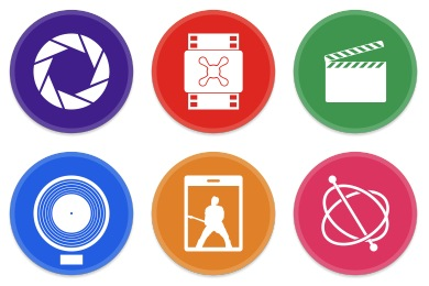 Button UI Apple Pro Apps Icons