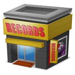 Shop Records icon