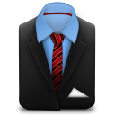Manager-Suit-Red-Stripes icon