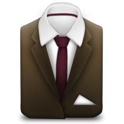 Manager Suit Brown icon