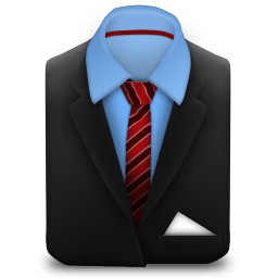 Manager Suit Red Stripes icon