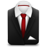 Manager-Suit-Red-Tie icon