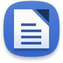 Libreoffice writer icon