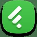 Web feedly icon