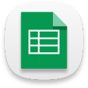 Web google sheets icon