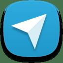 Web telegram icon
