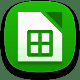 Libreoffice calc icon