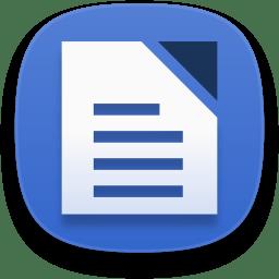 Libreoffice writer icon