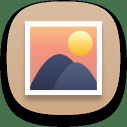 Multimedia photo manager icon