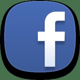 Web Facebook Icon Captiva Iconset Bokehlicia