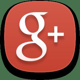 Web google plus icon