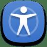 Preferences-desktop-accessibility icon