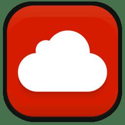 Mega cloud icon