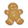 Christmas-cookie-man icon